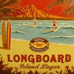 Sunset Grill mircro brew long board Kona
